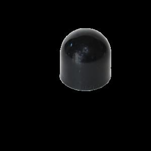 black protective cap